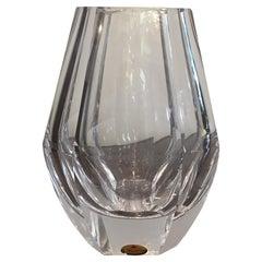 Moser Vase Glass 1960 Cecoslovacchia