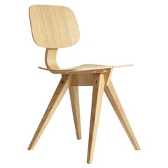Mosquito Dining Chair in Natural Oak Designed by Niko Kralj in 1953, Rex Kralj