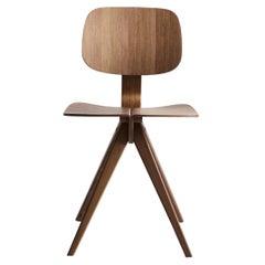 Mosquito Dining Chair in Walnut Designed by Niko Kralj in 1953, Rex Kralj