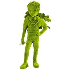 Moss Boy Sculpture by Kim Simonsson, circa 2020, Finland
