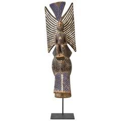 "Mossi Katanga Ceremonial ""Totemic"" Mask, Burkina Faso Africa, circa Early 1900s"