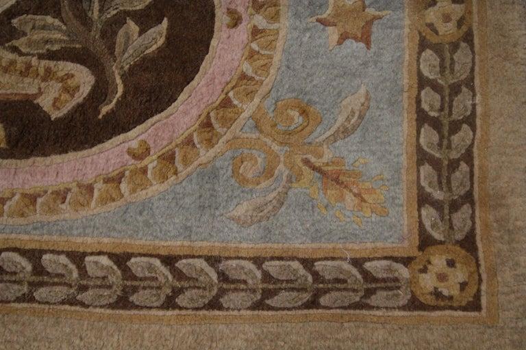 Most Elegant Door Mat Luxury Savonnerie Handmade Door Mats