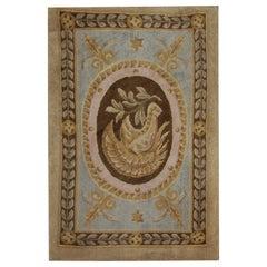 Most Elegant Door Mat Luxury Savonnerie Handmade Door Mats for Farmhouse Decor