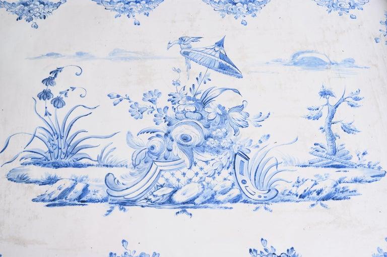 Most Unusual 18th Century Swedish Rococo Tea Table For Sale 1