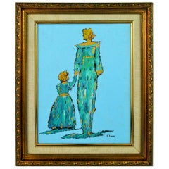 Mother and Child Figurative Painting