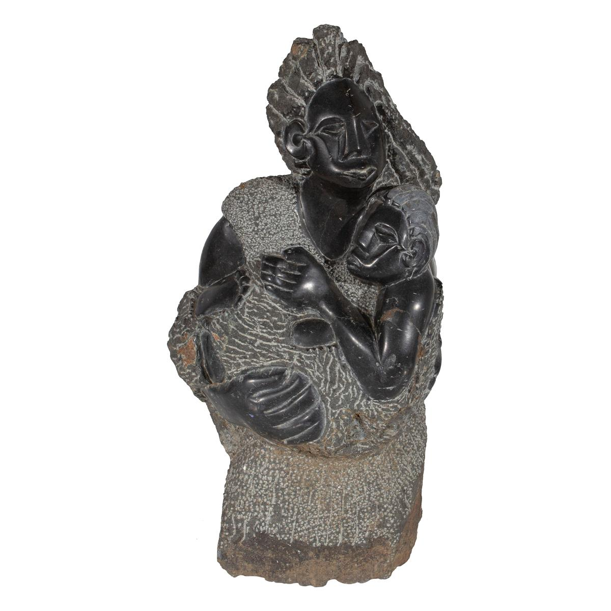 Mother and Child Sculpture