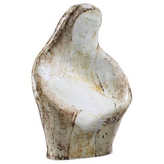 Mother and Child Madonna Figurine Pottery