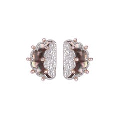 Mother of Pearl and Diamond Ear Clip
