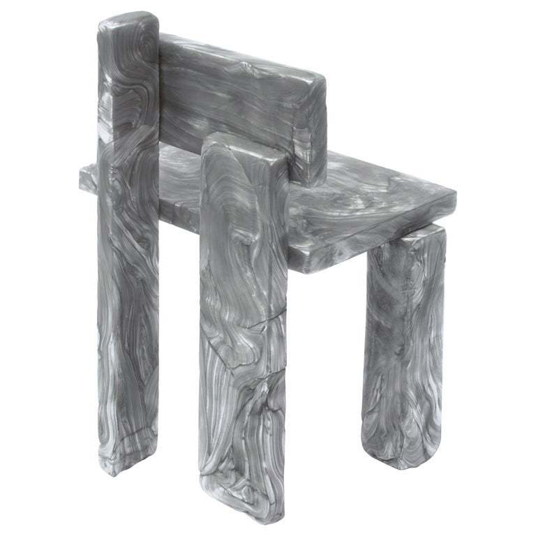 Mother of Pearl Chair by Marten and Joost For Sale