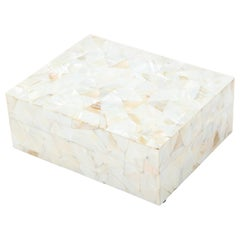 Mother-of-Pearl Decorative Box