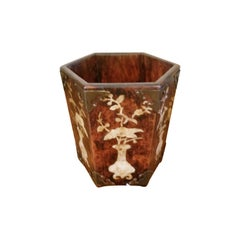 Mother of Pearl Inlay Cache Pot