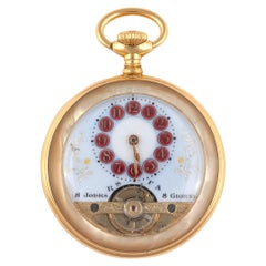 Mother of Pearl Pocket Watch