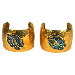 Mother of Pearl Seaweed Cuffs, MWLC