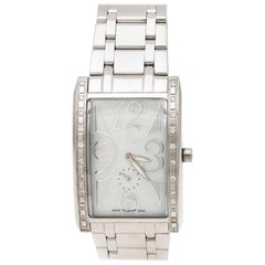 Mother of Pearl Swarovski Crystal Modena Nudo A16100 Women's Wristwatch 30 mm