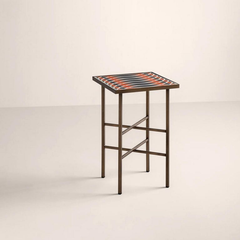 Motif Side Table, Designed by Analogia Project In New Condition For Sale In Beverly Hills, CA