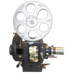 Motion Picture 35mm Theatre Projector 1922 Design, Complete Head Hollywood Relic