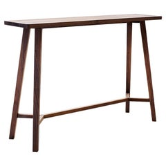 Motion Walnut Console Table