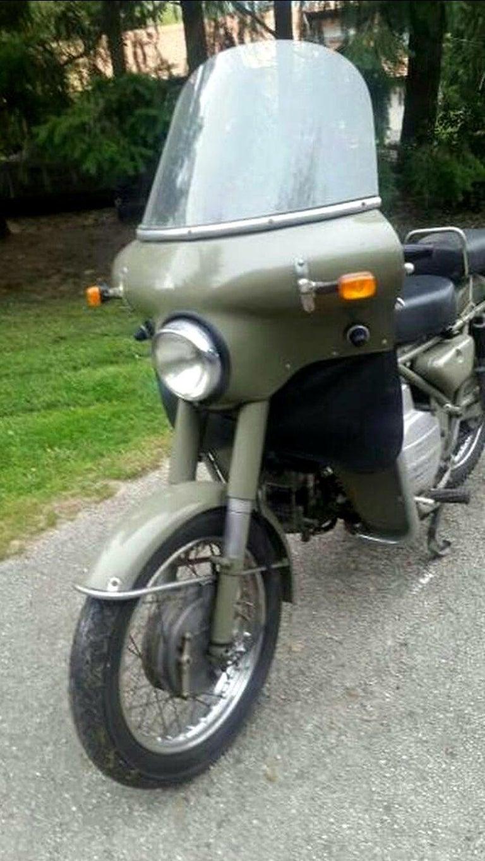 Italian Moto Guzzi Nuovo Falcone Military 500cc 1972 For Sale