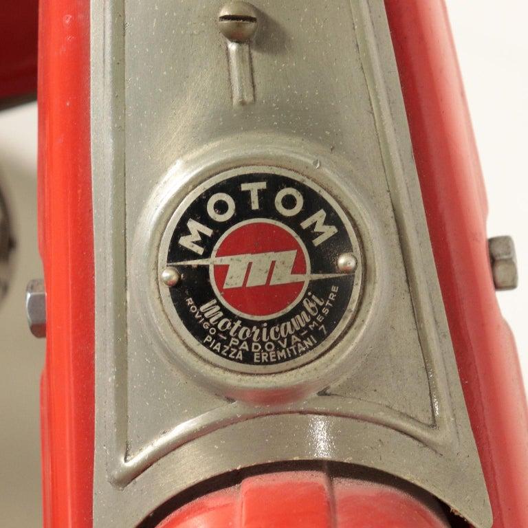 Motom Moper 1950s Italian Prodution 4