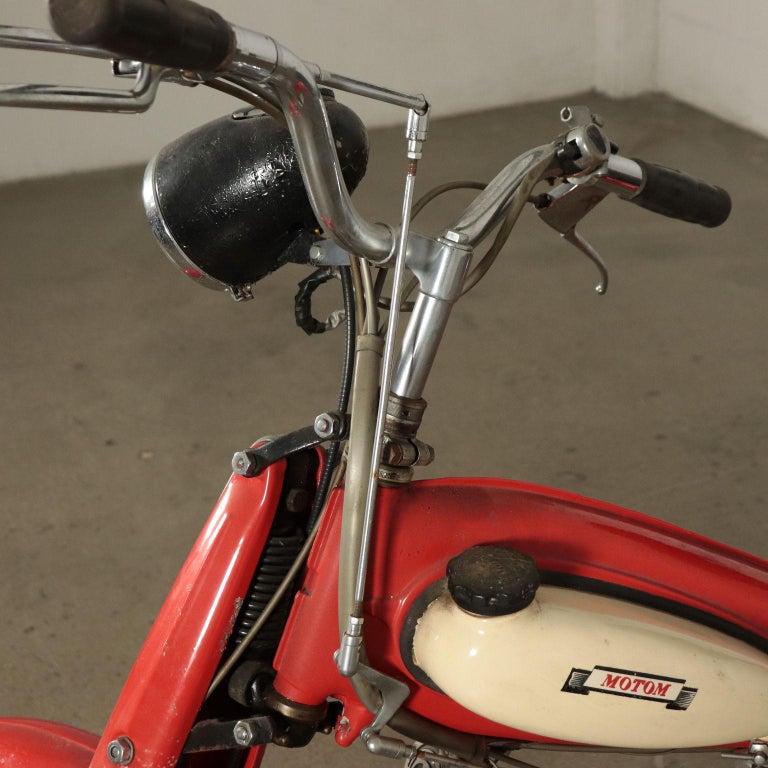 Motom Moper 1950s Italian Prodution 5