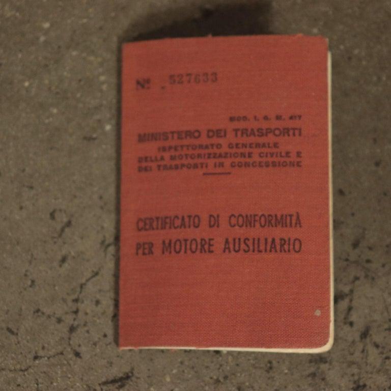 Motom Moper 1950s Italian Prodution 8
