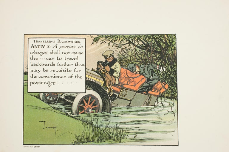 Motoring Perrier Book For Sale 7
