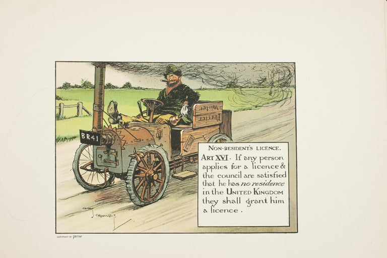 Motoring Perrier Book For Sale 8