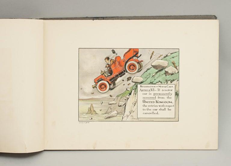 Sporting Art Motoring Perrier Book For Sale