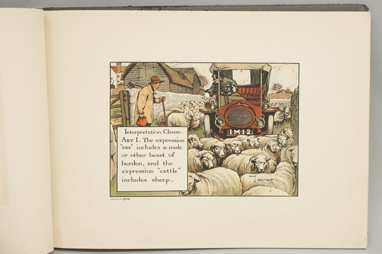 English Motoring Perrier Book For Sale