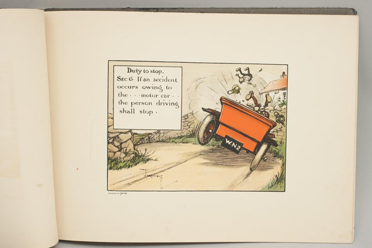 Motoring Perrier Book In Good Condition For Sale In Oxfordshire, GB