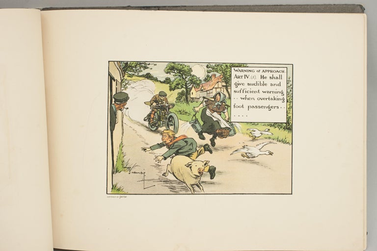 Early 20th Century Motoring Perrier Book For Sale