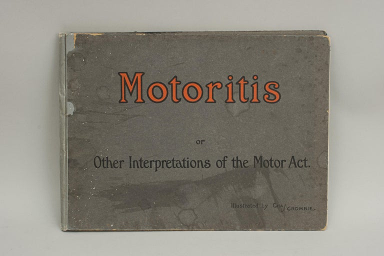 Motoring Perrier Book For Sale 1