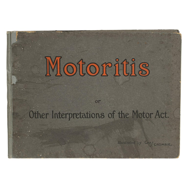 Motoring Perrier Book For Sale