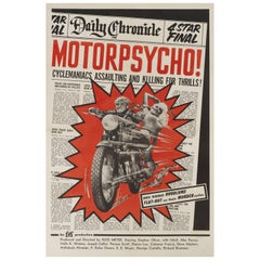 """Motorpsycho!"" Film Poster"