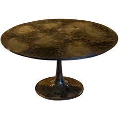 Mottled Bronze Coffee Table, India, Contemporary