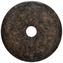 Mottled Stone Bi Disc on Wall Mount