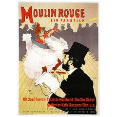 """Moulin Rouge"" 1952 Poster"