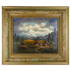 """""""Mount Hood"""" Original Painting by Heinie Hartwig"""