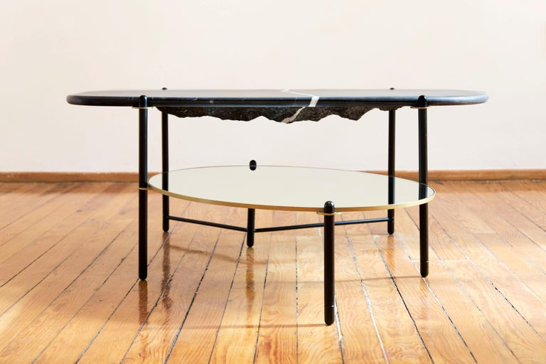 Glass Mountain Coffee Table by Comité de Proyectos For Sale
