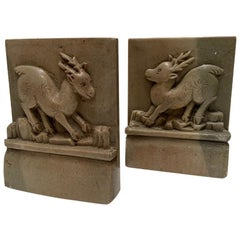 Mountain Goat Bookends