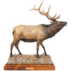 """Mountain Heir"" Bronze by Sam Anton Terakedis"