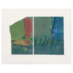 """Mountain Lake I"" by Anne Raymond"