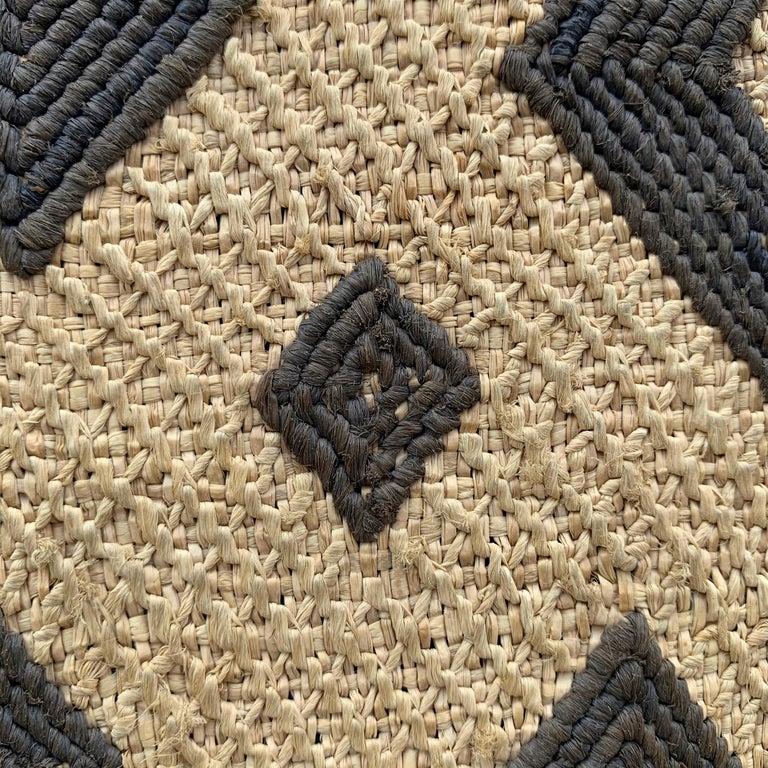 Mounted Kuba Cloth Panel For Sale 2