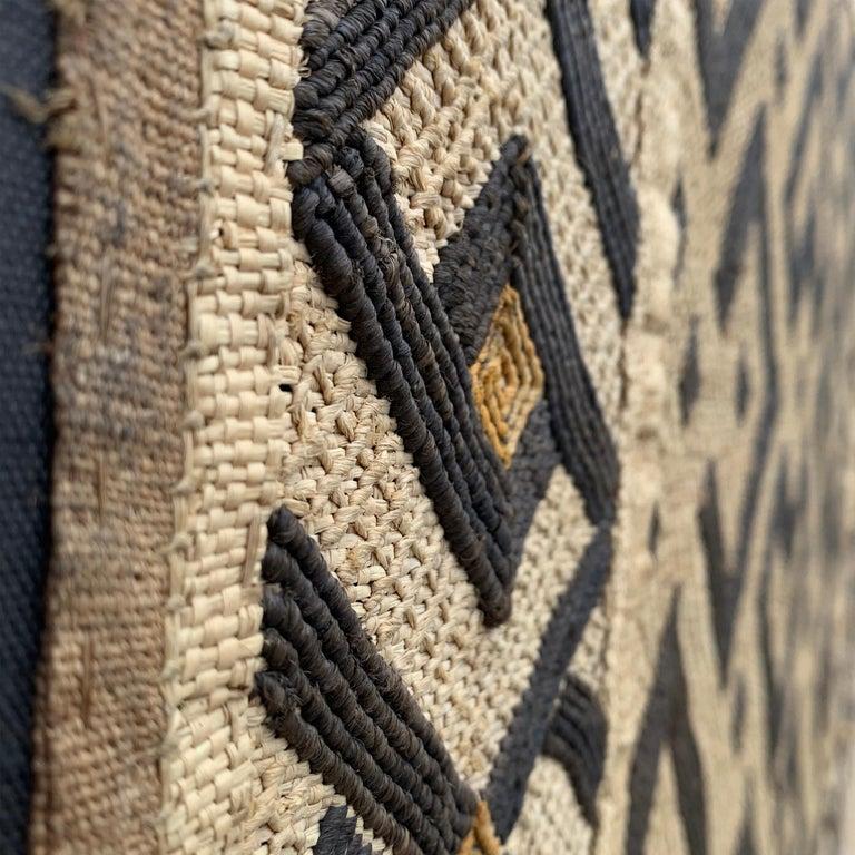 Mounted Kuba Cloth Panel For Sale 5