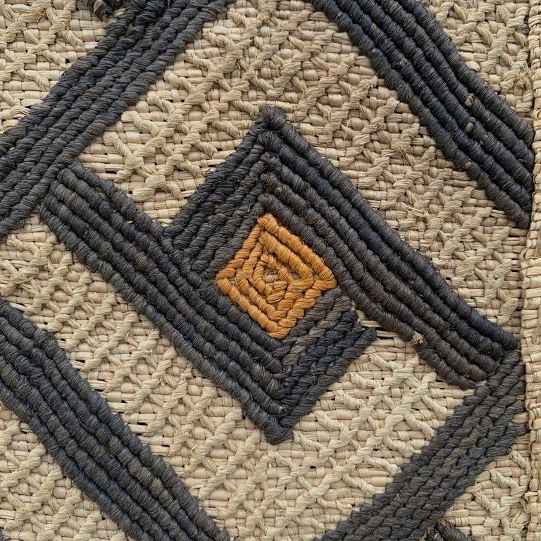 Mounted Kuba Cloth Panel For Sale 1