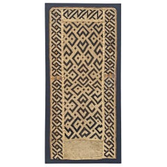 Mounted Kuba Cloth Panel