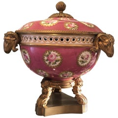 Mounted Potpourri Late 19th Century Sèvres Style