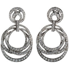 Moussaieff Diamond Multi-Hoop Earrings