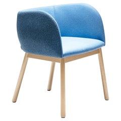 Mousse SP Blue Chair by Tommaso Caldera
