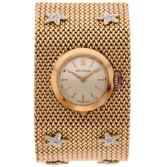 Movado 18 Karat Gold Diamond Ladies Watch